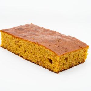 Porción Bizcocho Zanahoria Naranja