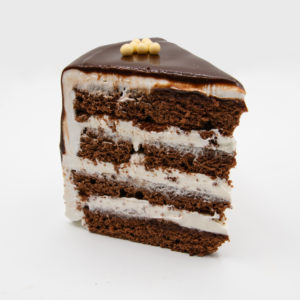 Porción de Tarta de Chantilly – Chocolate