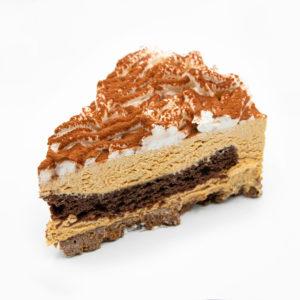 Porción de Tarta Dulce de Leche